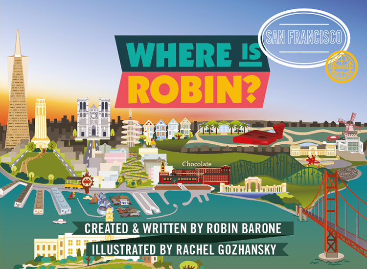 Where Is Robin? San Francisco book cover