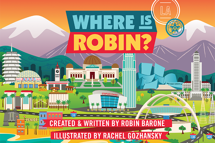 Where Is Robin? Los Angeles book cover